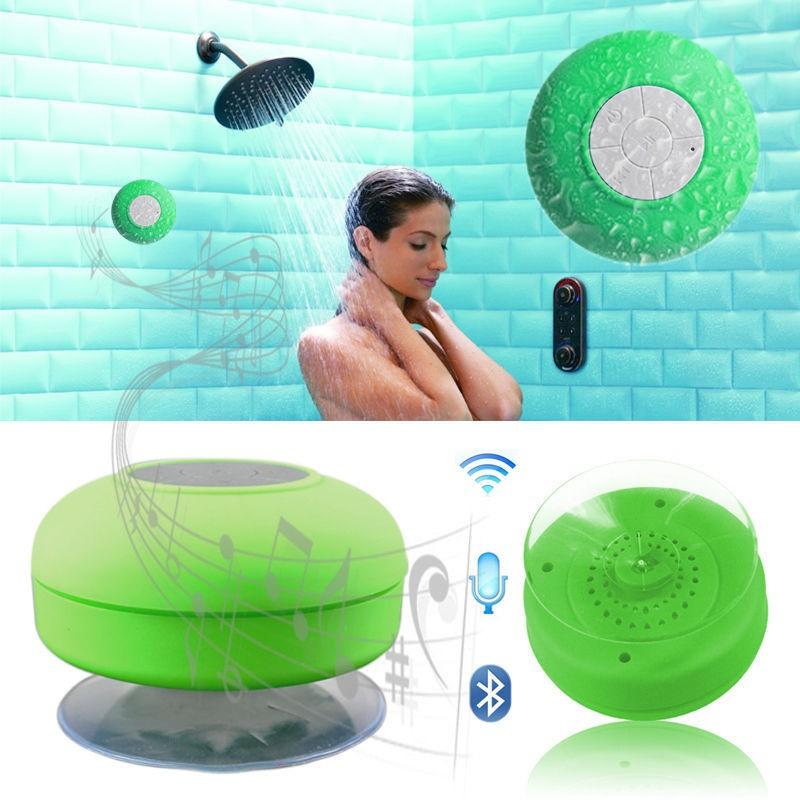 ~3535 ~防水吸盤音箱浴室防水無線藍牙音箱戶外通話便攜式藍牙音響