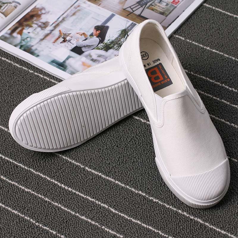 女松糕鞋女帆布鞋女內增高鞋旅遊鞋小白鞋休閒鞋板鞋單鞋 鞋樂福鞋增高鞋夏 淺口純色帆布鞋女一