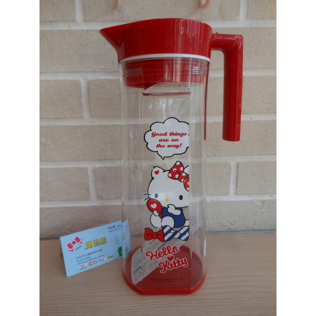 婕的店  帶回OSK 製品Sanrio Kitty 製冷水壺1500cc