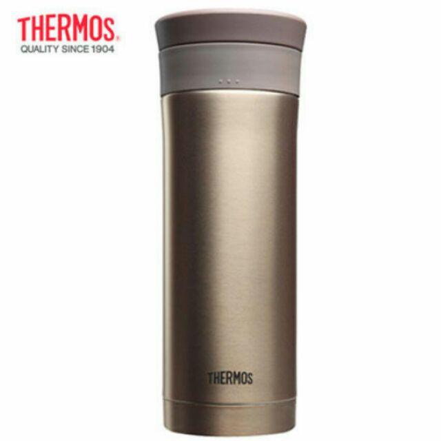 THERMOS 膳魔師480ml 率性雙層真空保溫杯不鏽鋼保冷杯晶鑽金JMK 501