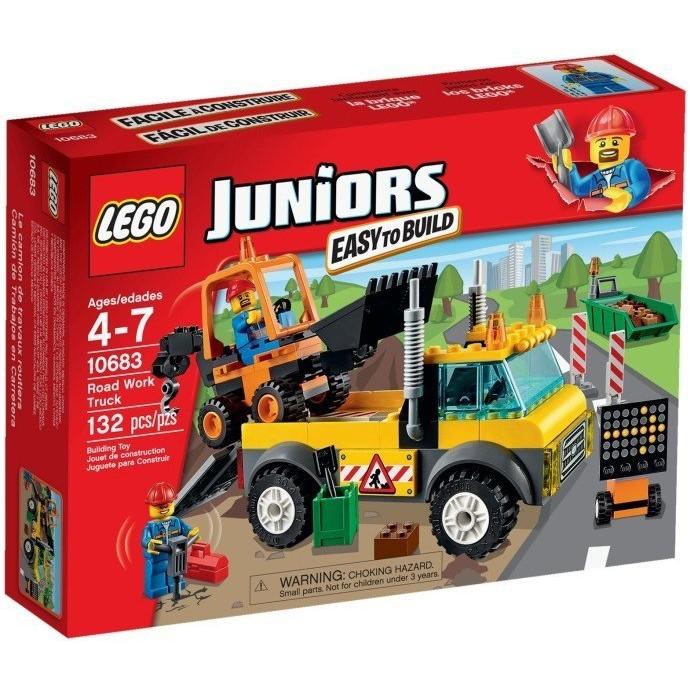 ~積木樂園~樂高LEGO 10683 JUNIORS 系列道路施工卡車