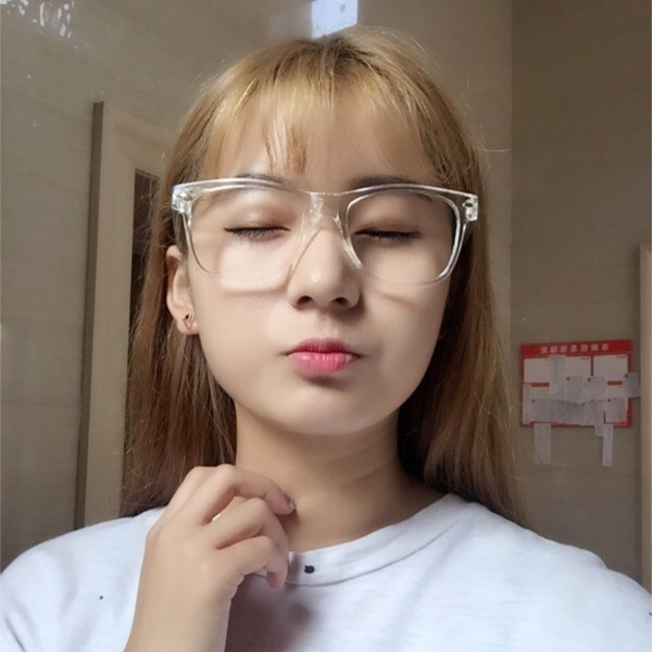 韓國ulzzang 原宿zipper 百搭透明金屬古卓眼鏡穿搭單品薛妞zara 小安GAP