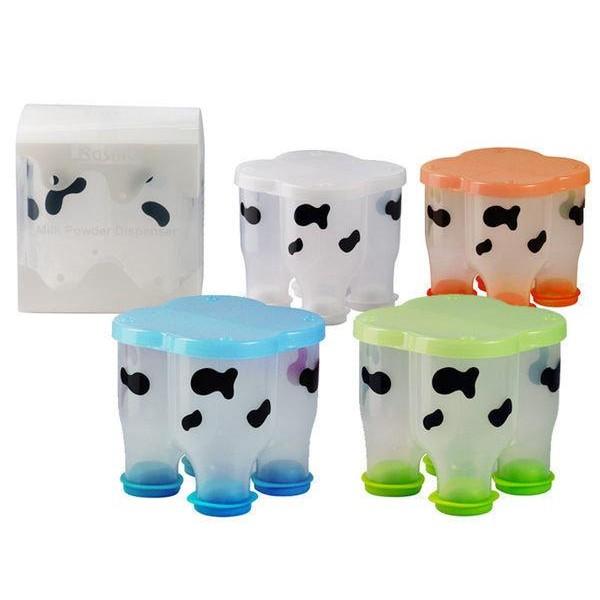 Basilic 貝喜力克乳牛奶粉盒320ml 四色d058