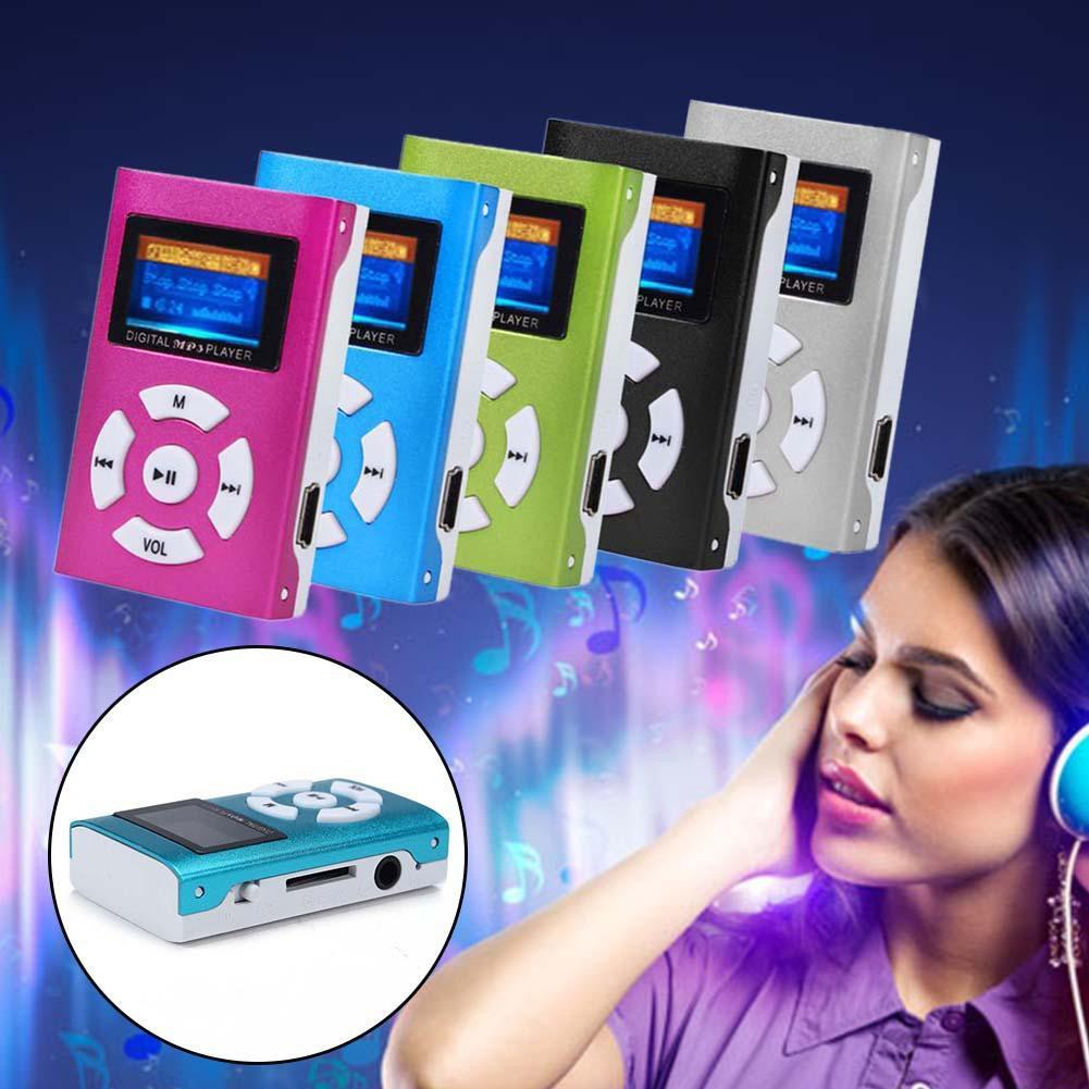 USB 迷你數碼MP3 音樂播放器液晶屏幕金屬支持32G MicroSD 卡B L632