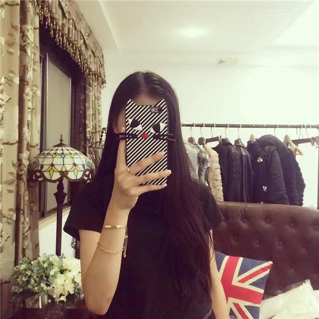 ins 韓國搞怪lulu 條紋貓咪iPhone6 plus 蘋果iPhone6 6s 手機