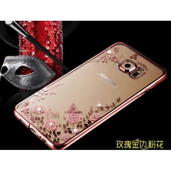 2016 J7 電鍍水鑽軟殼全包邊手機套TPU 軟殼保護套手機殼