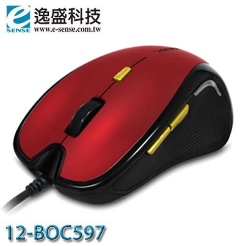 ~MR3C ~含稅附發票eSENSE 逸盛12 BOC597 597 USB 有線光學滑鼠