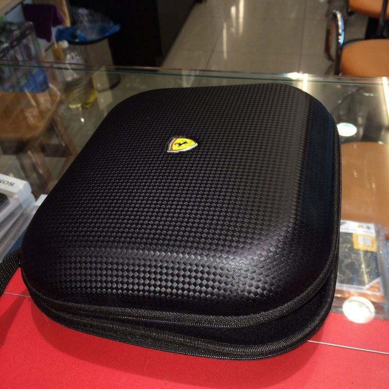 東京快遞耳機館法拉利抗壓式耳機收納盒SONY MDR 1A 1R 10R 10RBT XB