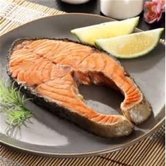~海鮮7 11 ~ 鮭魚切片約300 350 克片每片才130 元