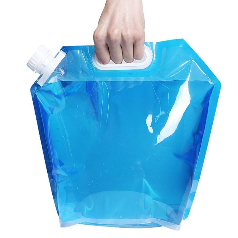 5L 旅遊野營旅行便攜水桶戶外 水袋騎行登山折疊水壺飲水盛水儲水