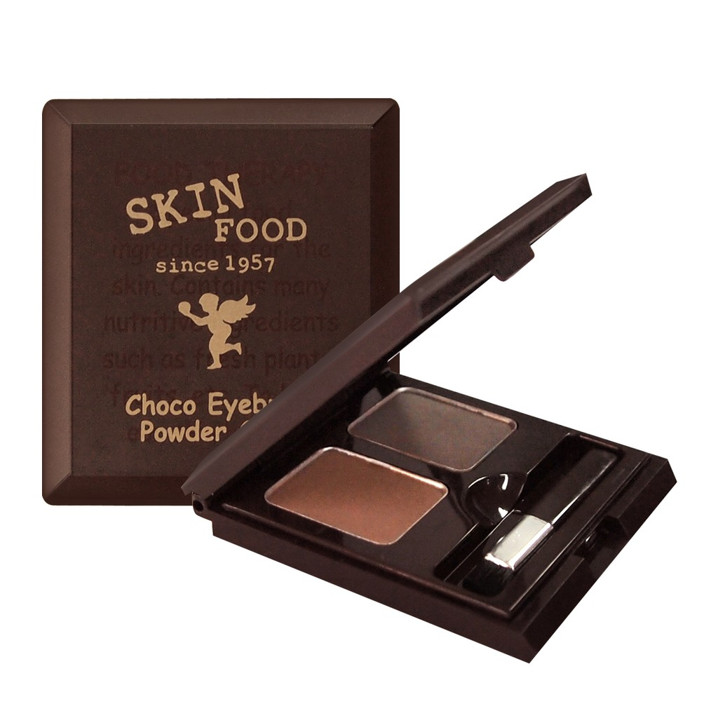 SKINFOOD 巧克力眉粉餅Choco Eyebrow Powder Cake