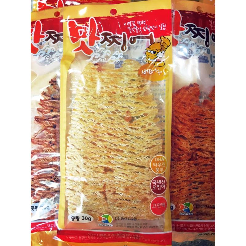 生生烤魷魚絲30g 辣雞杏仁果(原味、辣味、奶油味)