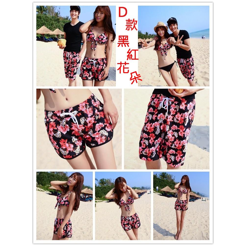(沙灘王)海灘褲、沙灘褲、衝浪褲、情侶褲、 花色、海邊男生F I 款 區
