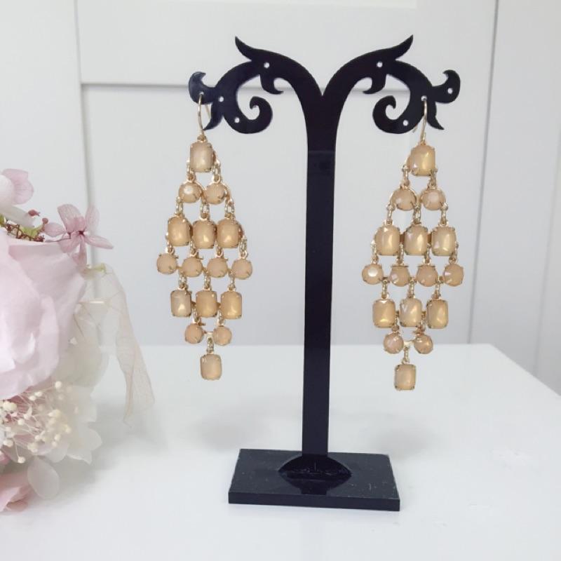 ~Vintage Queen ~復古耳環、寶石耳環、華麗耳環、水鑽耳環、宮廷風耳環、巴洛克