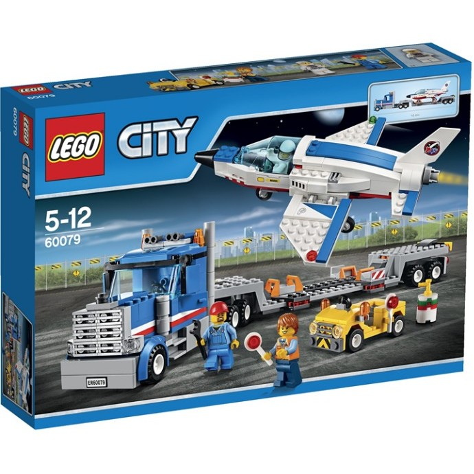 樂高熊LEGO 樂高60079 City 太空探險訓練機運輸車 未拆有