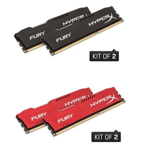 記憶體~雙通道金士頓4G 2 DDR3 1866 HyperX FURY 散熱片1866