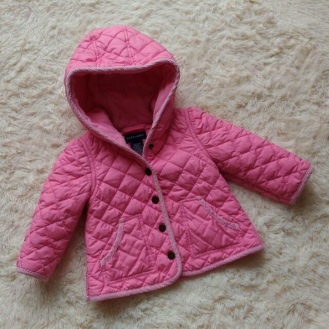 RALPH LAUREN 粉嫩保暖外套