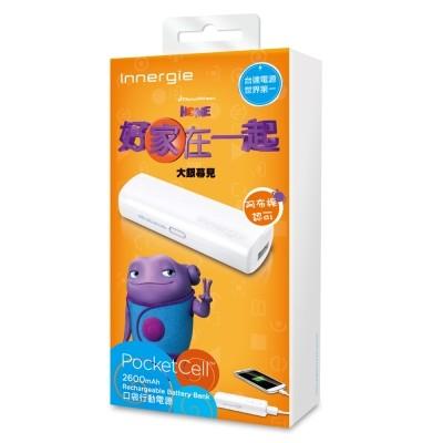 台達電Innergie PocketCell 2600mAh 超美型口袋行動電源V2600
