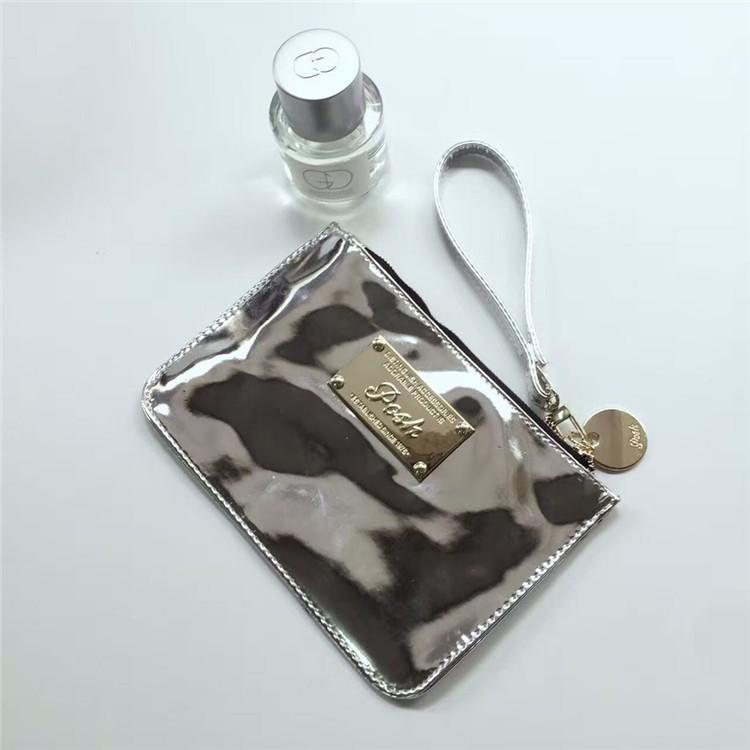 實拍泰國潮牌posh bag 街頭鐳射小包手抓包手腕包錢包手拿包零錢包