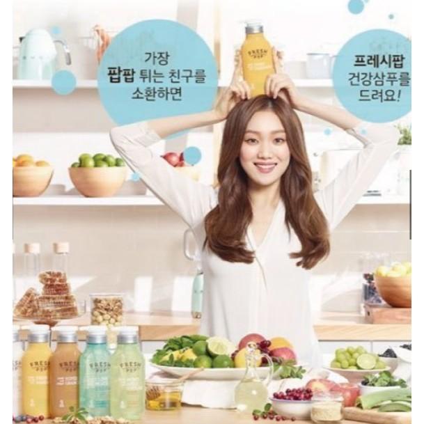 FRESH POP 果汁洗髮精潤髮乳韓國正品500ml