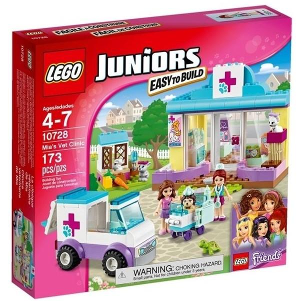 玩具之箱LEGO 樂高積木10728 JUNIORS 系列米雅的寵物診所 未拆