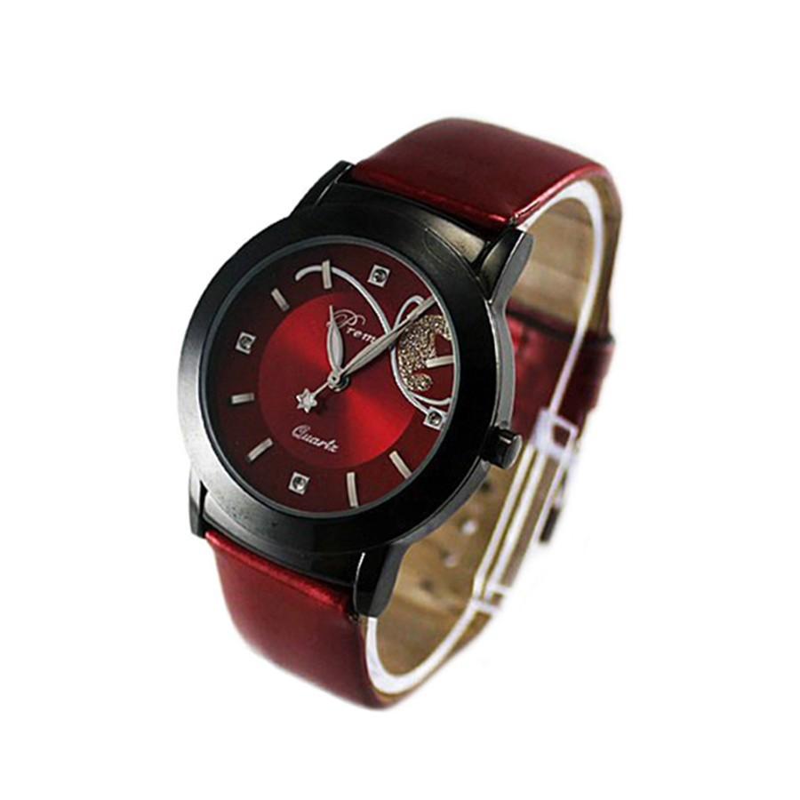 ~ ~韓國 大錶面手錶女士女士的豪華模擬石英 手錶