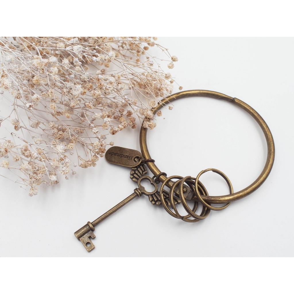 翅膀鑰匙大環鑰匙圈