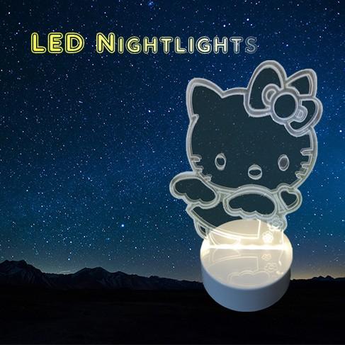卡通 LED 小夜燈買一送一 組