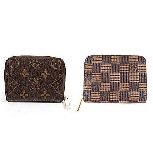 Louis Vuitton LV M60067 N63070 信用卡拉鍊零錢包LV 零錢包