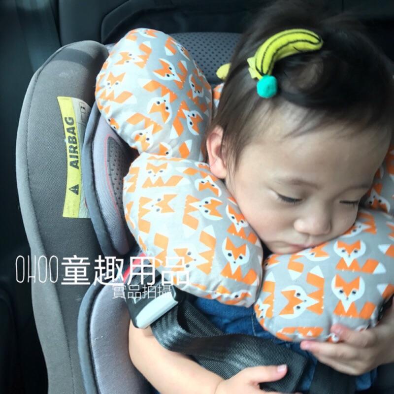 多 寶寶防晃枕汽座枕寶寶枕蝴蝶枕護頸枕推車枕u 型枕嬰兒枕