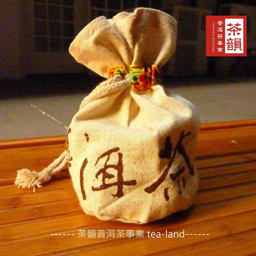 ~茶韻普洱茶~迷你沱系列可愛透氣小麻袋品飲價90g 口味