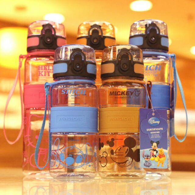 小款350ml 大款500ml 夏天 卡通直飲杯超有型卡通隨身杯瘋狂中塑膠太空杯水壺