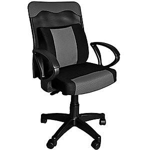 凱堡蘭陵王透氣網背電腦椅PU 大護腰枕和室椅休閒椅辦公椅