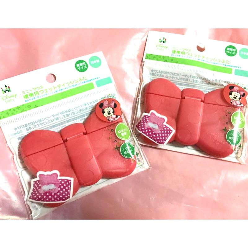 帶回Disney 阿卡將Micky 米奇米老鼠 製濕紙巾蓋子小濕紙巾黏貼蓋  Minnie