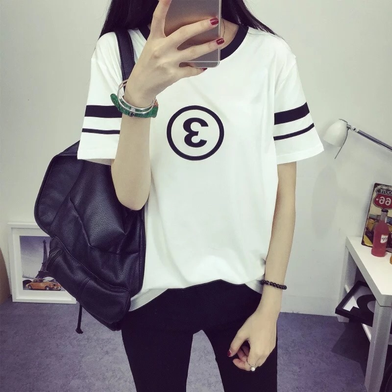 MM2016 夏裝 學院風寬松T 恤6360918