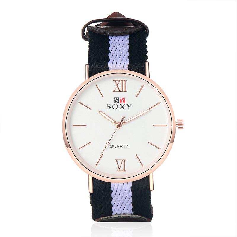 2016  手錶SOXY 奢侈品牌的男性石英表男孩手錶