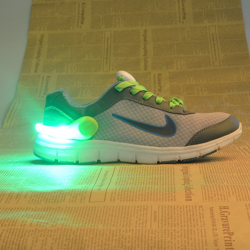 LED 夜間 夜光鞋夾