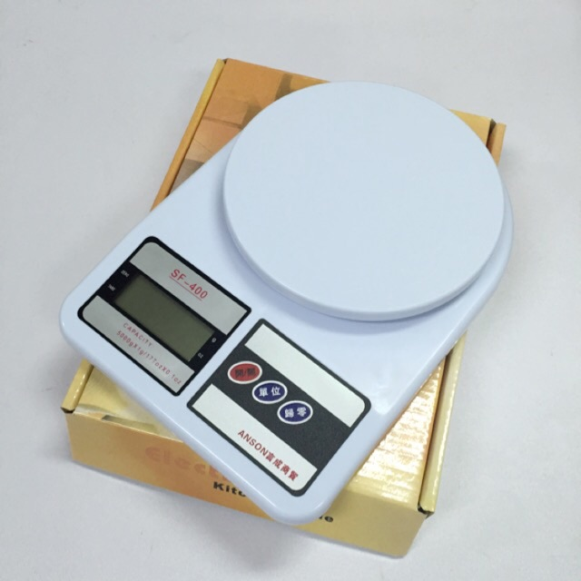 ~5kg ~送電池1g 5000g sf 400 電子秤廚房秤