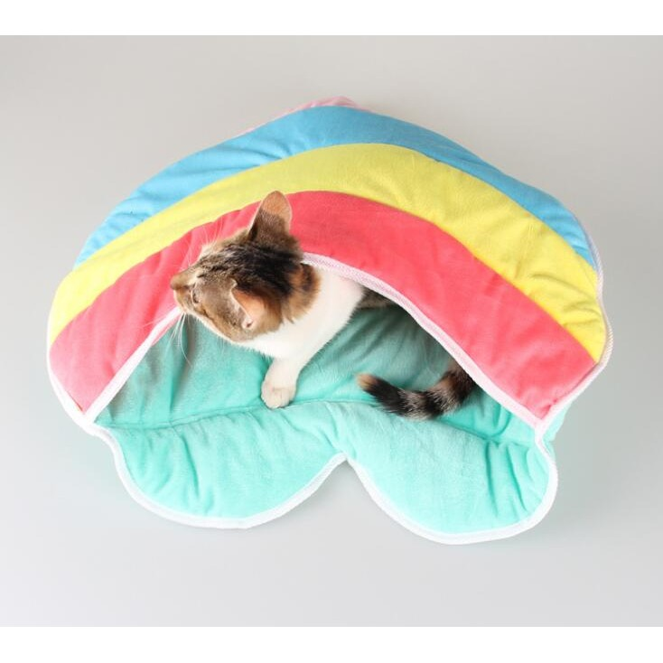 PETSTYLE 款貓窩 可拆洗柔軟舒適保暖貓睡袋