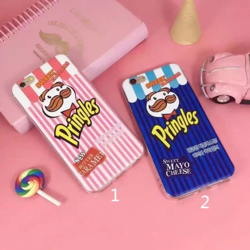 品客洋芋片 iphone6 6plus iphone7 7plus 手機保護套手機殼