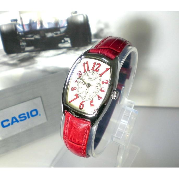 ~CASIO 手錶 ~經緯度鐘錶酒桶型 淑女指針錶文青手錶 卡西歐代理 貨 真皮錶帶~全國