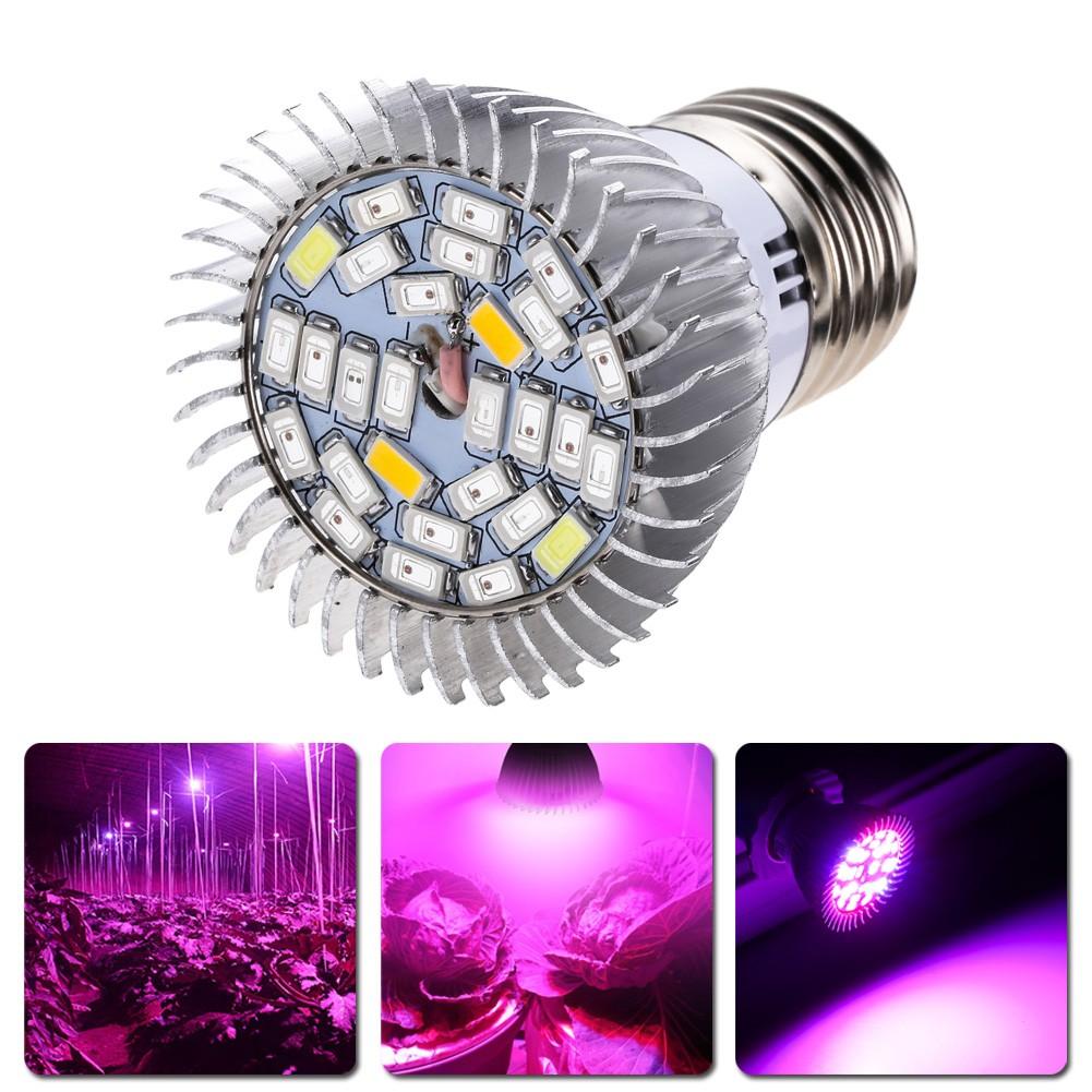 全光譜28W LED 植物燈種植燈85V 110V 265V