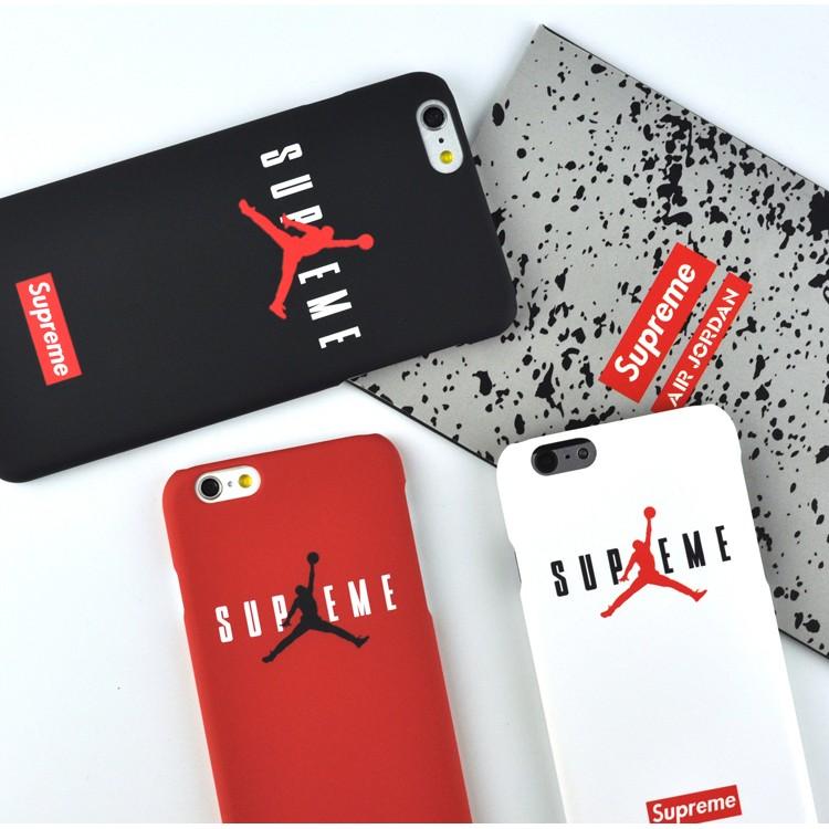 飛人喬丹Jordan iPhone7 手機殼蘋果6plus 保護殼磨砂觸感半包硬殼supr
