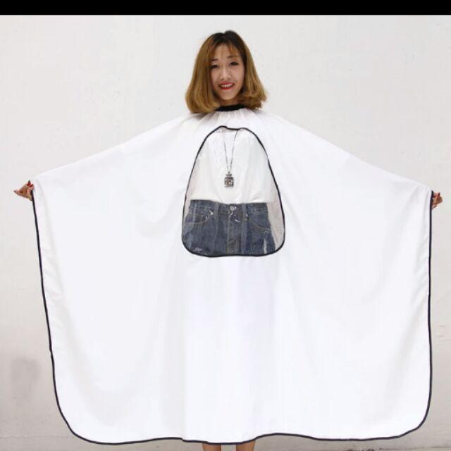 Z016 透視 玩手機理髮美髮燙染圍巾