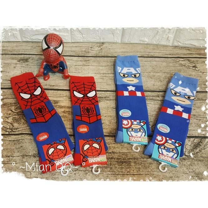 ~棉Q Q ~長筒襪半筒襪美國隊長蜘蛛人米奇米妮小熊維尼毛怪大眼史迪奇