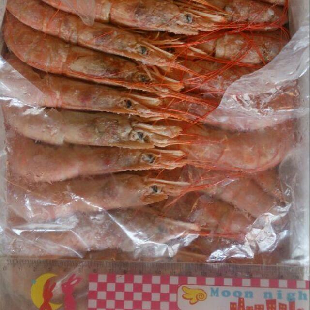 船凍野生天使紅蝦L2 生食級2kg 盒