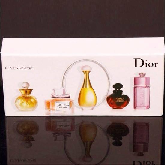 Dior 迪奧香水小樣Q 版5ml 5 五件套裝