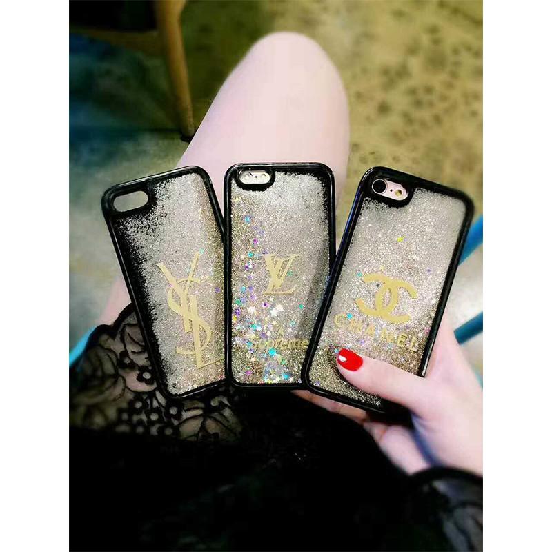 ◤liweike ◥超美 流沙手機殼閃亮星星iPhone6 系列手機殼CHINEL 字體手