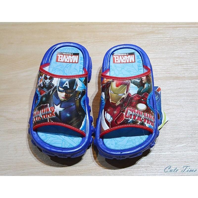 鋼鐵人IRON MAN 美國隊長拖鞋童鞋布鞋 鞋休閒鞋跑步鞋涼鞋拖鞋學步鞋布希鞋雨鞋室內鞋