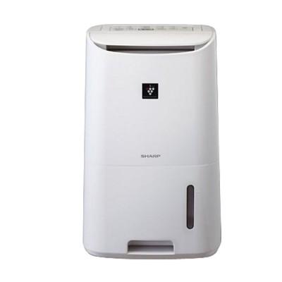 SHARP 夏普6 5L 自動除菌離子溫濕感應除濕機DW F65HT W